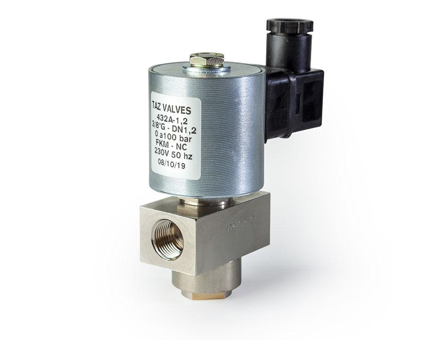 Válvula mando directo abierta 422A - TAZ Valves