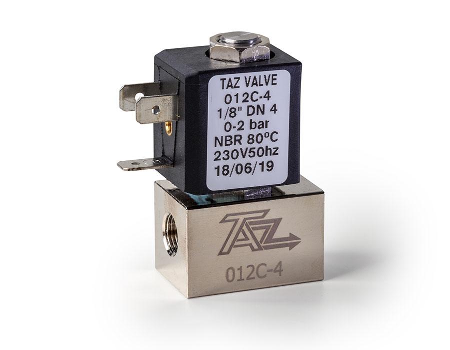 Válvula mando directo cerrada 012/022 - TAZ Valves