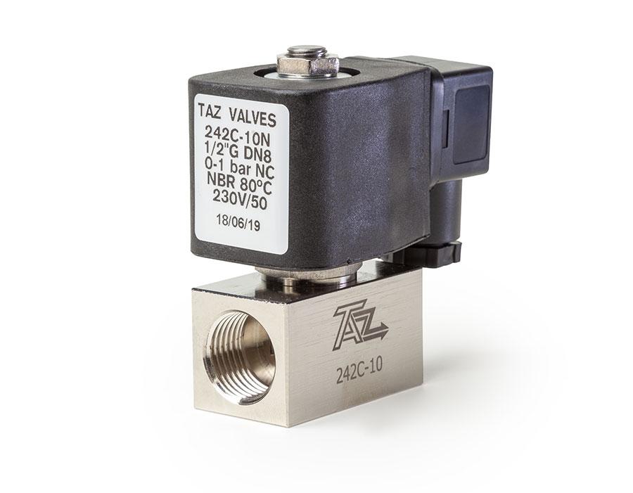 Válvula mando directo cerrada 212c - TAZ Valves