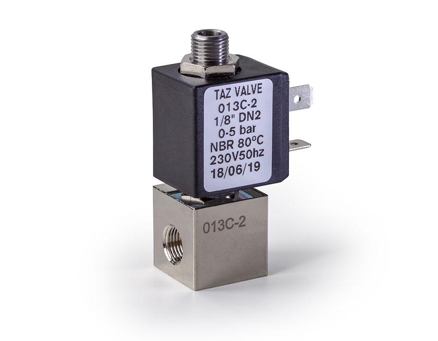 Válvula mando directo cerrada/abierta 013 - TAZ Valves